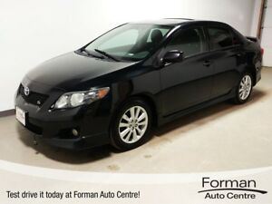 2009 Toyota Corolla S - Winter tires & Rims | Sunroof | Alloy...