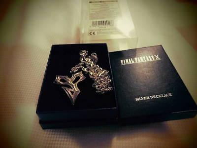 Final Fantasy 10 Silver Pendant Necklace Tiida used