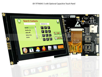 4.3 Inch Tft Lcd Module Displayi2cserial Wcapacitive Touch Paneltutorial