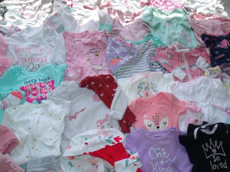 Adorable Baby Girl Clothes Girl Newborn 0-3 , 3-6 Months Shirts Pants Sleepers