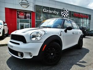 2011 MINI Cooper Countryman S/COUNTRYMAN/TOIT PANORAMIQUE/CUIR