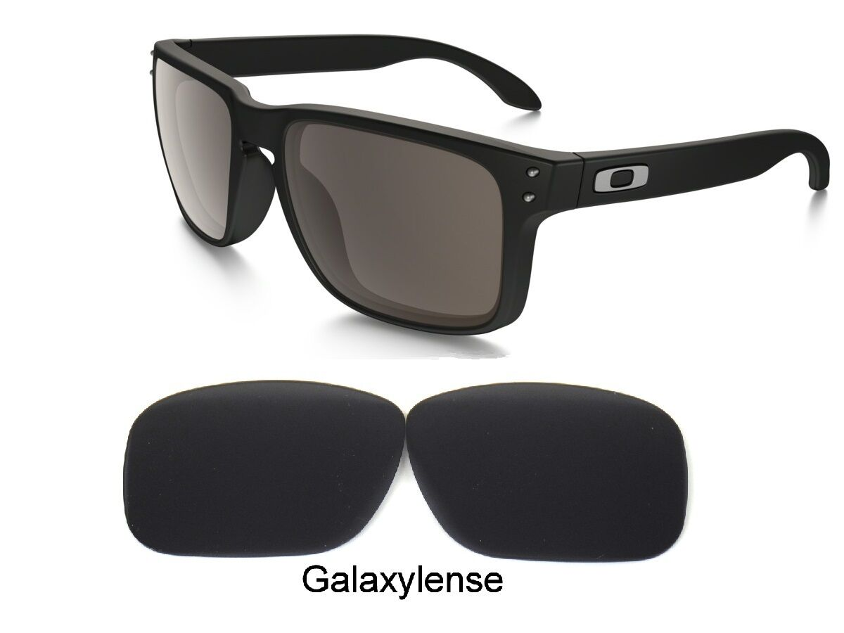 ea1f0a979aec1 Galaxy Replacement Lenses For Oakley Holbrook Iridium Black Color Polarized