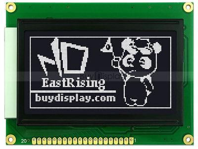Black 128x64 Graphic Lcd Display Module Wks0107ks0108 Controllertutorial