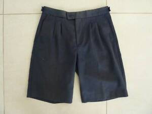 Boys Navy School Shorts. CCGS. Size 18. Used, some discoloration