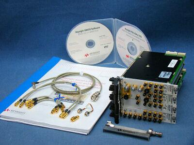 Keysight M9391a Pxie Vector Signal Analyzer 6ghz M9300a M9301a M9214a M9350a