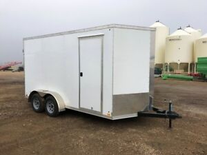 2018 Cross Trailers 7x14 T/A Enclosed Cargo Trailer