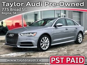 2016 Audi A6 3.0T Technik LOCAL TRADE, 1 OWNER, PST PAID, LOW KM