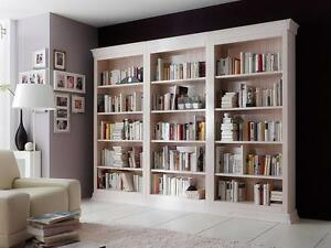 bibliothek wei m bel ebay. Black Bedroom Furniture Sets. Home Design Ideas