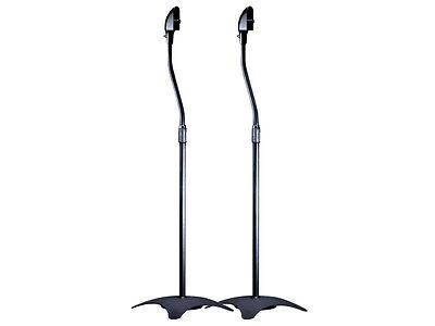 1-Pair-2-Black-Surround-Sound-Audio-Speaker-Stands-Bose-Acou