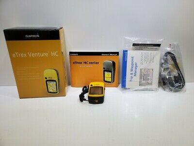 Garmin eTrex Venture HC Handheld High Sensitivity GPS With Box And Software