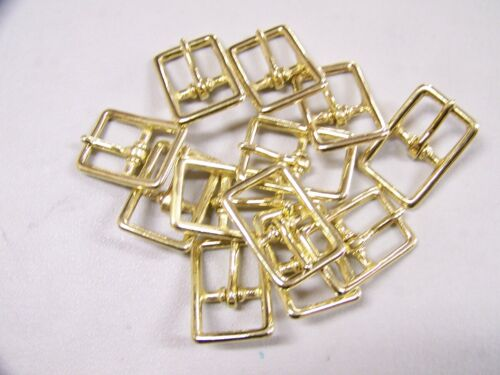 Leather Craft Buckle #121 Solid Brass Buckle Style # 00121-SB-3/4 Quantity of 12