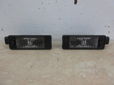 2014 Citroen DS3 e-HDI 1.6 Rear Number Plate Lights (Pair)