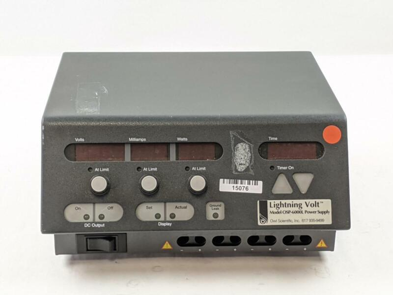 Owl Scientific EC6000-90 Power Supply Electrophoresis Module