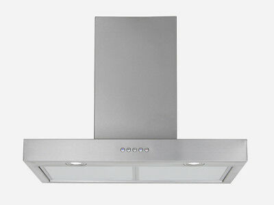 "30"" Stainless Steel Led Control Wall Mount Kitchen Panel Range Hood Stove Vent"