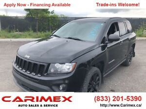 2012 Jeep Compass Sport/North 4x4 | CERTIFIED