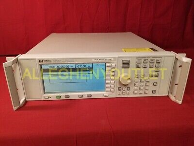 Hp Agilent E4400b Analog Rf Signal Generator 250 Khz To 1 Ghz W Option 1em
