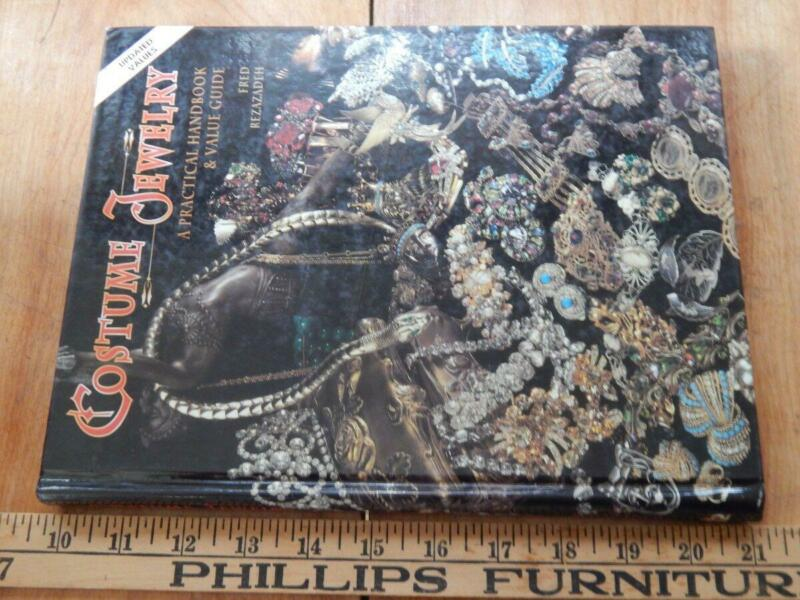 Costume Jewelry, A Practical Handbook and Value Guide, HB  VG Rezazadeh