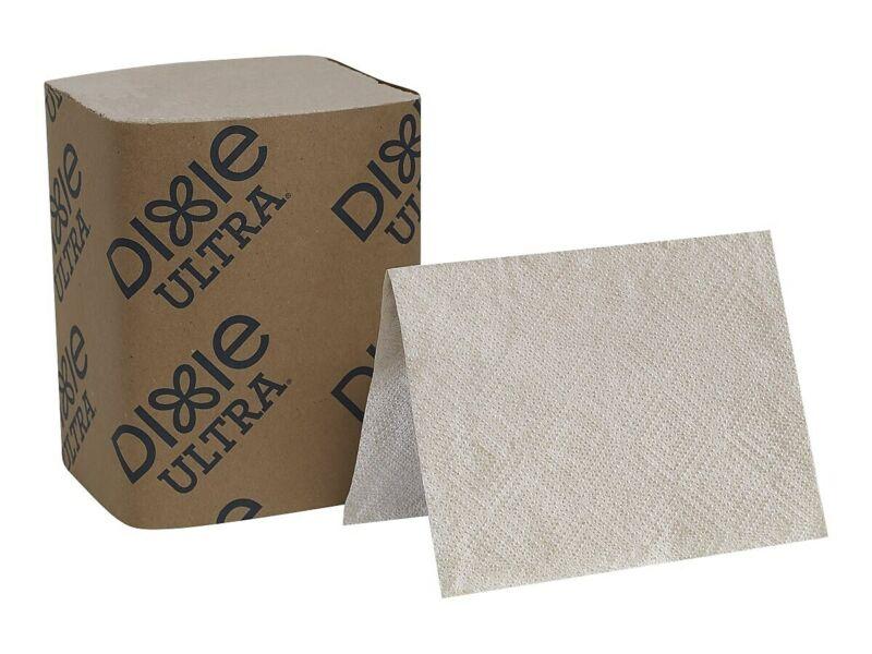 Dixie Ultra Dispenser Napkins 2-Ply Brown 250/Pack 2411484