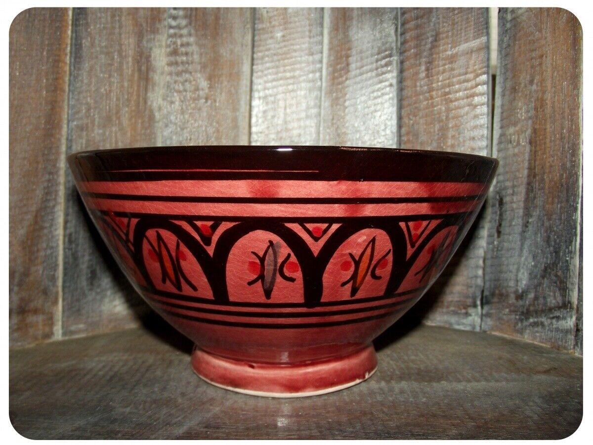 Orientalische marokkanische Keramikschale Keramik Obst Salat Reis Schale mittel