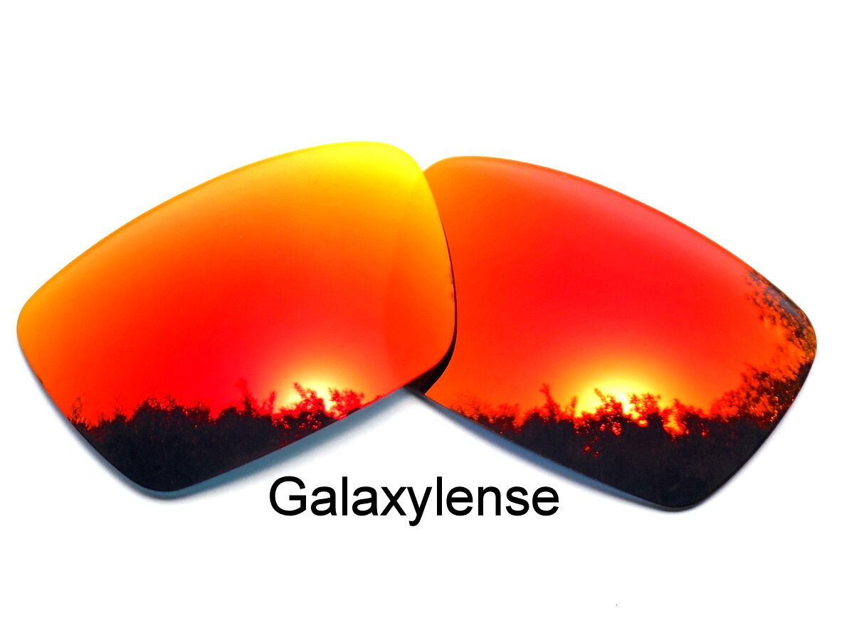 5692a90ba71 Galaxy Replacement Lenses For Oakley Fuel Cell Fire Red Color Polarized 100 %UVAB