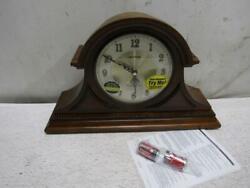 Rhythm Clocks Remington II Wooden Musical Mantel Clock, CRH216UR06