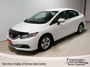 2014 Honda Civic LX - Winter tires and rims | Htd Seats | Blu...