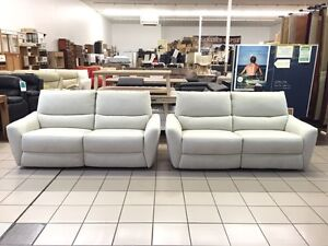 2 x 2.5 SEATER DUAL RECLINER (BEIGE FABRIC) Logan Central Logan Area Preview