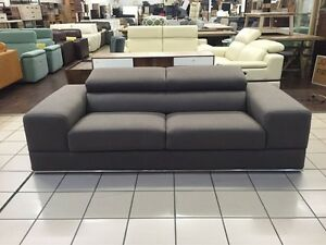 2.5 SEATER FABRIC SOFA W/ADJUSTABLE HEADRESTS Logan Central Logan Area Preview