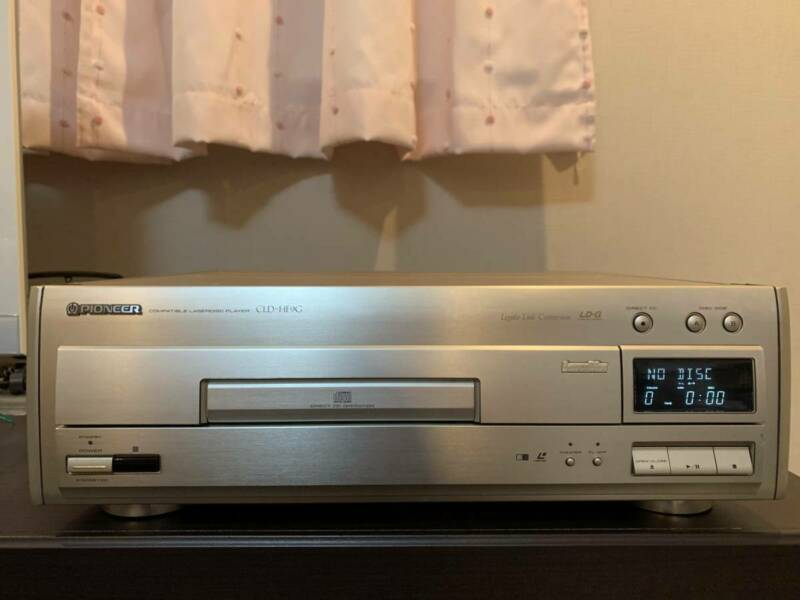 Pioneer laser disc/CD player CLD-HF9G w/extras