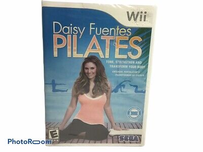 Factory Sealed Daisy Fuentes Pilates Nintendo Wii Yoga Fitness Workout NEW SEAL