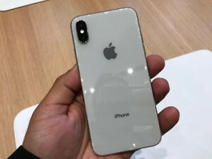 Unlocked iPhone X 256gb Silver