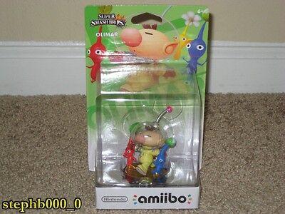 Nintendo Amiibo Olimar Pikmin Super Mario Bros Us Version New Sealed Rare