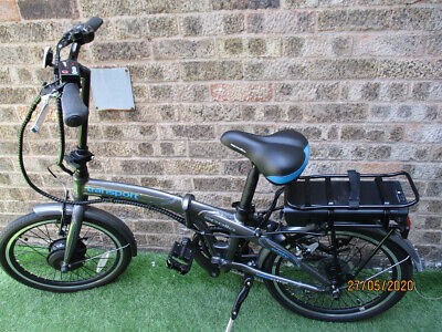 "Apollo Transport Electric Folding Bike - 20"" Wheel"