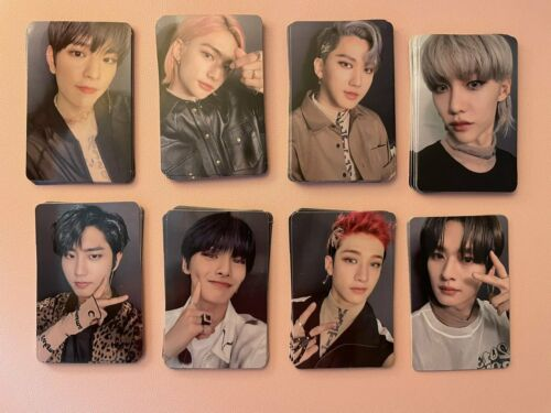 Stray Kids Exclusive My music taste MMT video call photocard (choose member)