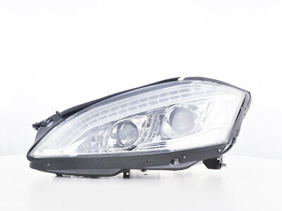 Scheinwerfer Set Daylight LED TFL-Optik für Mercedes-Benz S 221 Bj. 05-09 chrom