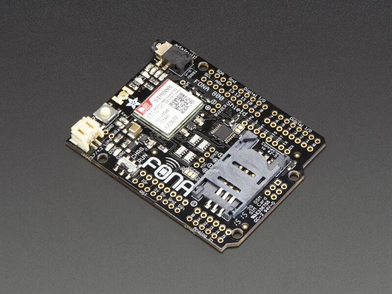 Adafruit FONA 800 Arduino Shield - Voice/Data Cellular GSM DIY 2G Cell Phone