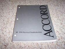 1998 Honda Accord Electrical Wiring Diagram Manual Sedan ...
