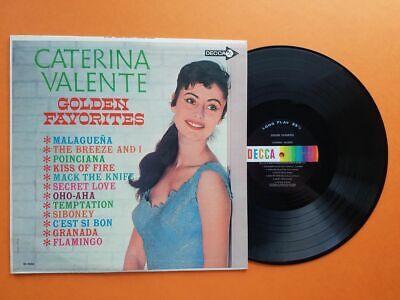 Caterina Valente - Golden Favorites - Original Vinyl LP - Decca 4504