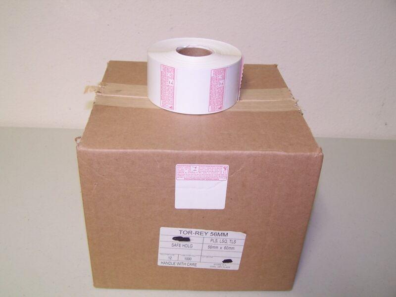 Torrey Original Safe Handling Thermal Label for LSQ-40L Scale,10 Roll/1000 label