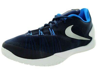 bc2b64dc545f NIKE Hyper Chase 749554-402 Navy White Blue Silver Basketball Men shoe SZ 15