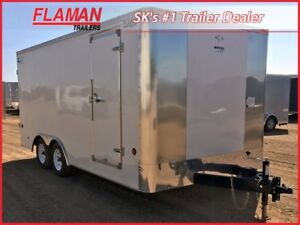 Southland 8' x 16' Enclosed Trailer - with Barn Doors!