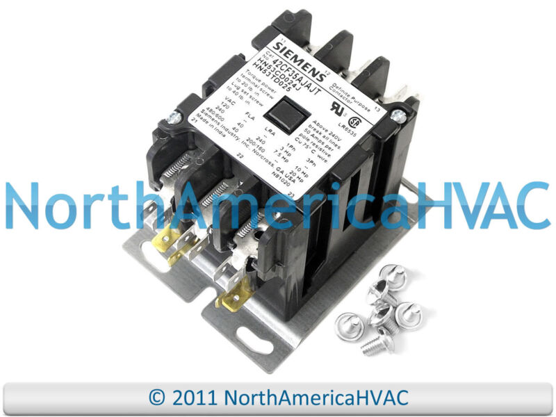 Carrier Bryant 3P Contactor Relay HN53CB024 HN53DC024