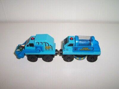 Thomas Wooden Train Sodor Road Crew Set LC99183 Garbage Truck & Street Sweeper