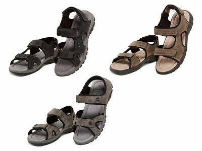 LIVERGY Footflexx Herren Komfort Sandalen Pantoletten Sommerschuhe Schuhe