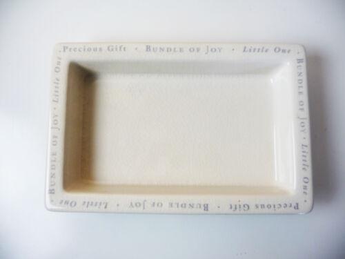 Little One CERAMIC TRAY for nursery organizer Bath & Body Works