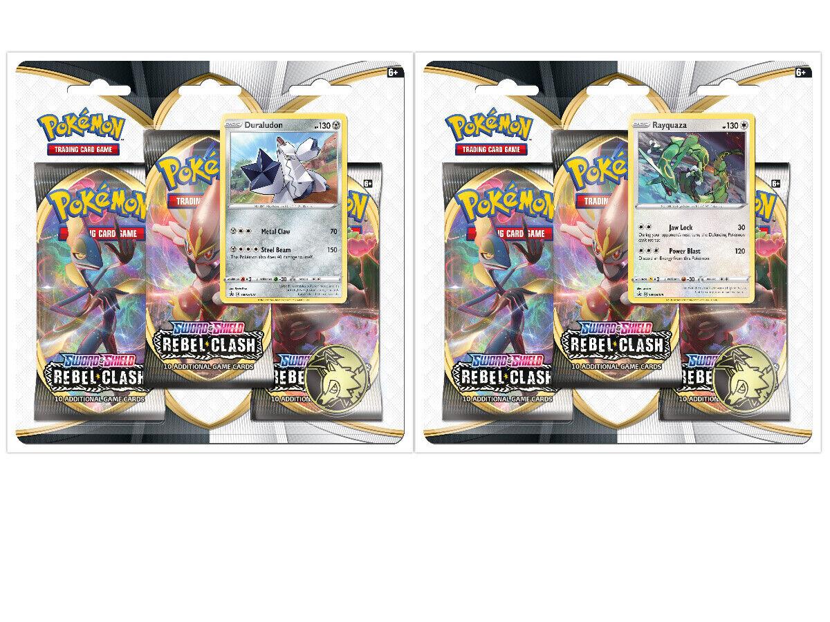 Pokemon TCG Sword /& Shield Rebel Clash 2 Booster Blister PackS NOCTOWL MANTINE