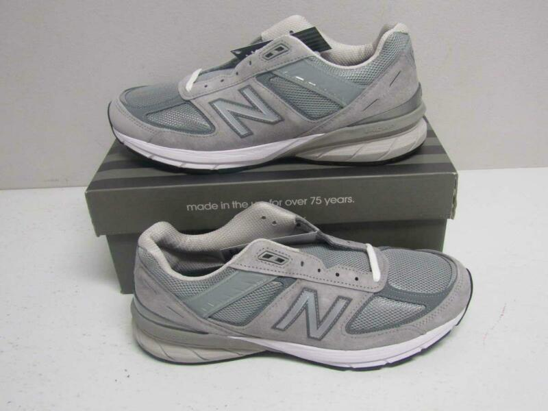 New Balance Mens's 11.5 D 990v5 Running Shoe Grey/Castlerock M990GL5