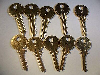 Yale Y1  Depth Keys 0-9   Locksmith