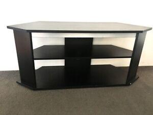 Black cabinet/tv stand/shelf