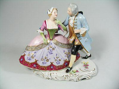 Goebel Porzellan Figur Rokoko Paar Figurine